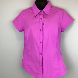 Pink Columbia Omni Shade button up shirt